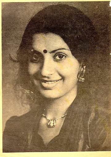 Ambika as a young woman